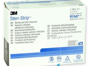benzi adezive sterile pentru sutura leziunilor 3M Steri-Strip Skin Closure - R1547
