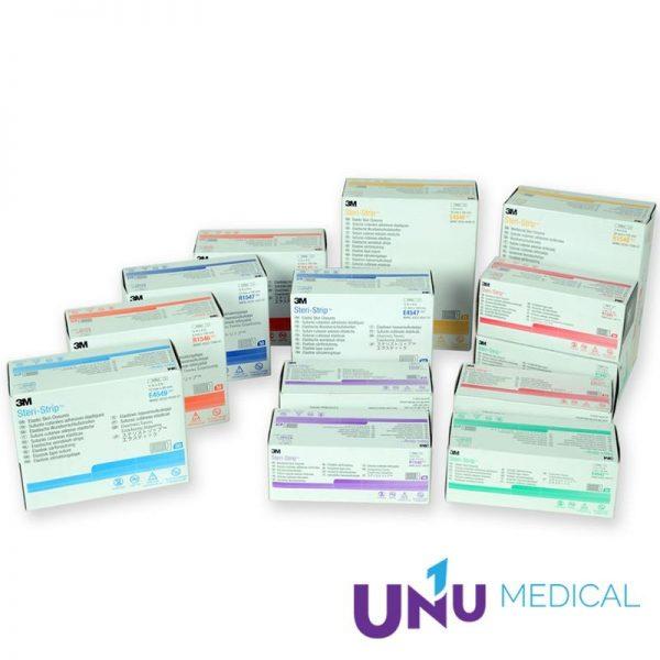 Benzi adezive intarite pentru sutura leziunilor 3M Steri-Strip Skin Closure - R1547