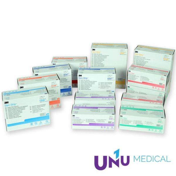 Benzi adezive intarite pentru sutura leziunilor 3M Steri-Strip Skin Closure R1546