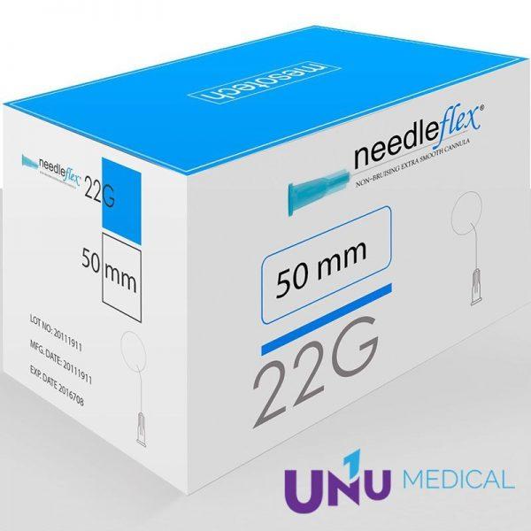 Ace Needleflex 22G X 50MM