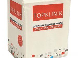 Comprese nesterile TopKlinik Premium 10cm x 10 cm