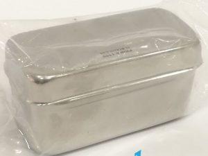 cutiuta mica inox diametru 4 CM