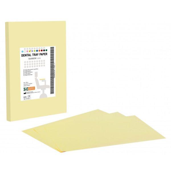 hartie pentru protectie tava culoare galbena