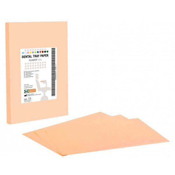 hartie pentru protectie tava culoare portocalie