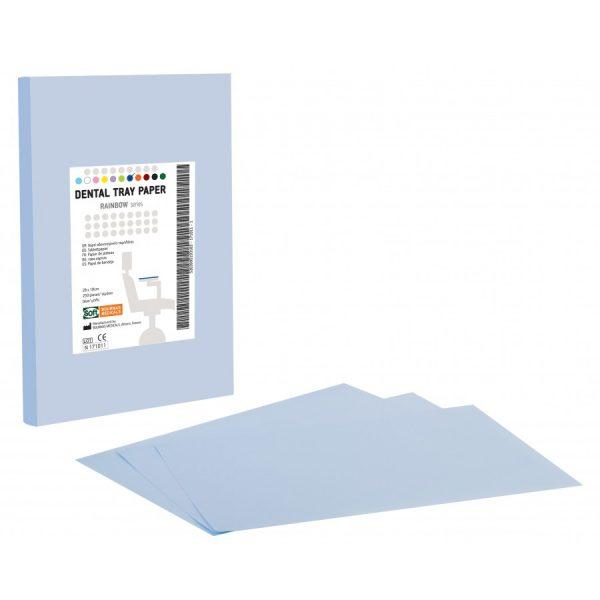 hartie pentru protectie tava culoare albastra