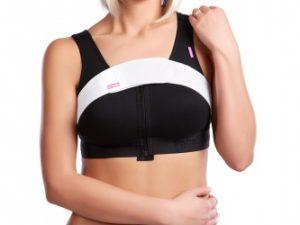 bandă pentru imobilizarea implanturilor mamare