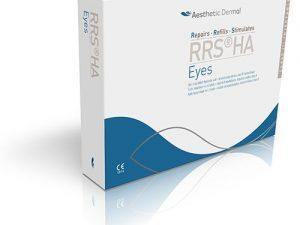 tratament pentru ridurile din jurul ochilor RRS HA Eyes cutie de prezentare