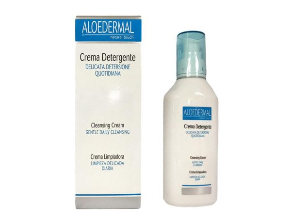 cremă hidratantă pentru curățarea tenului aloedermal 200 ml
