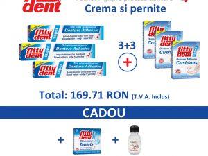 set îngrijire proteze dentare