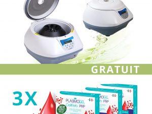Ofertă Centrifuga Xc Spinplus + 3 Cutii Plasmogel Gratuit